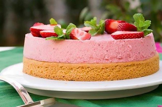 Μους φράουλα με λίγες θερμίδες! thumbnail