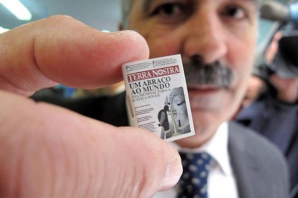 Η μικρότερη εφημερίδα του κόσμου thumbnail