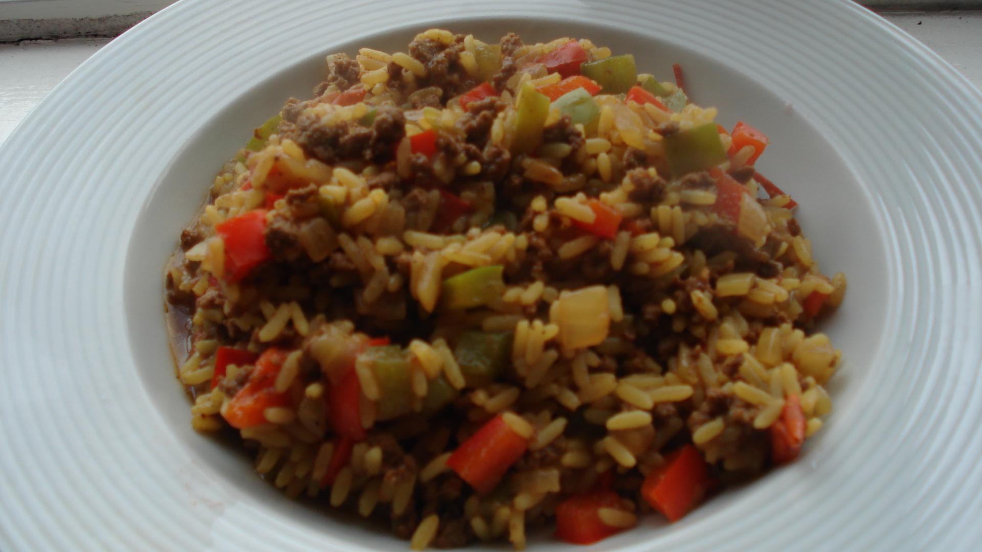 Γεύμα με μοσχαρίσιο κιμά και ανάμικτα λαχανικά!  thumbnail