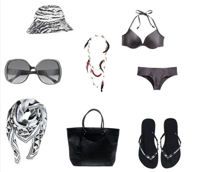 Outfit παραλίας σε σκούρες αποχρώσεις! thumbnail