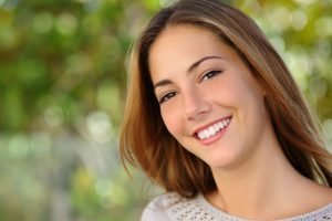 attractive girl smile