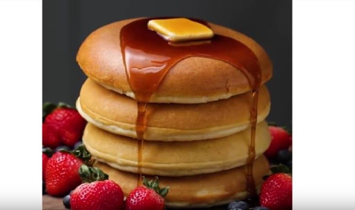 Απολαυστικά αφράτα pancakes στο λεπτό!