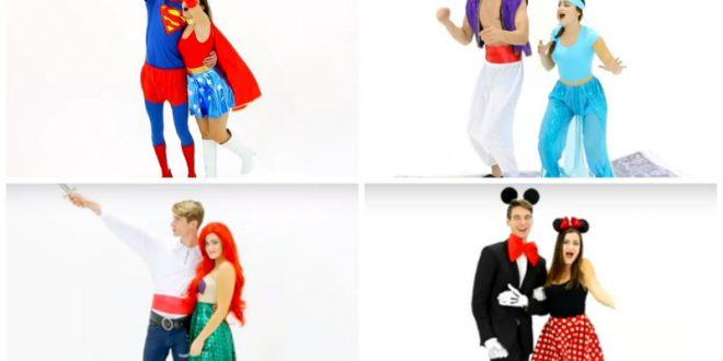 Εύκολες diy ιδέες για αποκριάτικες στολές για ζευγάρια