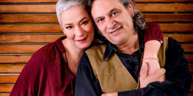 Η Μελίνα Κανά και ο Δημήτρης Ζερβουδάκης στον Σταυρό του Νότου