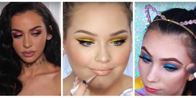 3 ανοιξιάτικα make up tutorial σε έντονα χρώματα!