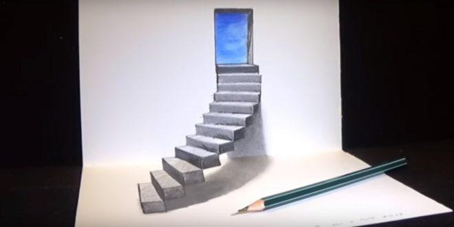 Εύκολο diy τρικ 3D ζωγραφικής (βίντεο)