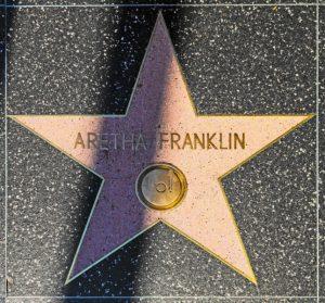 aretha franklin star