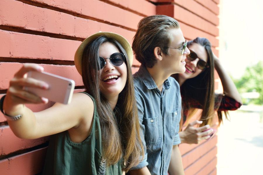 fotos selfies social