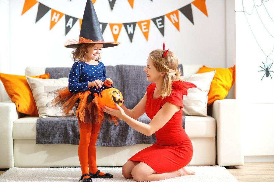 halloween parents children