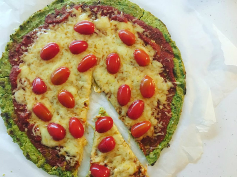 pizza brocolo