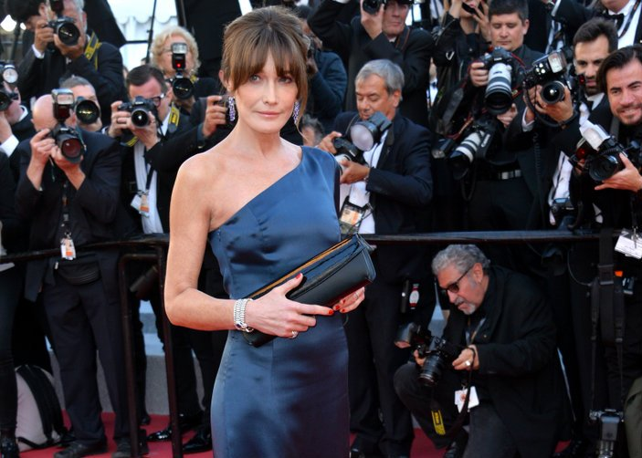 carla bruni cannes 2019