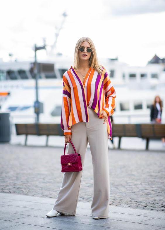 Πάρε ιδέες για το πώς να συνδυάσεις το ριγέ σου πουκάμισο