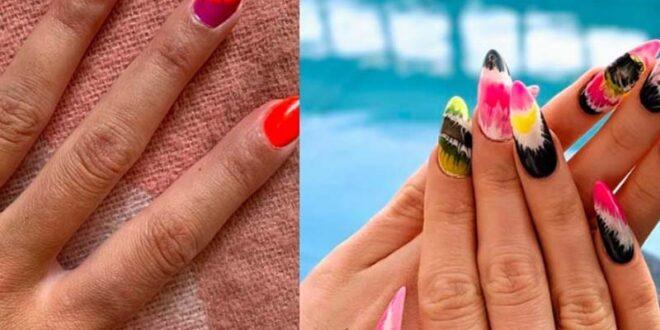 Trend alert: Tie dye μανικιούρ για τολμηρά κορίτσια