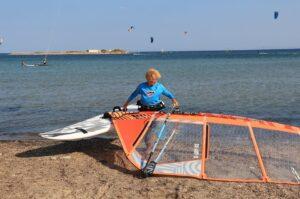 anastasia windsurfer