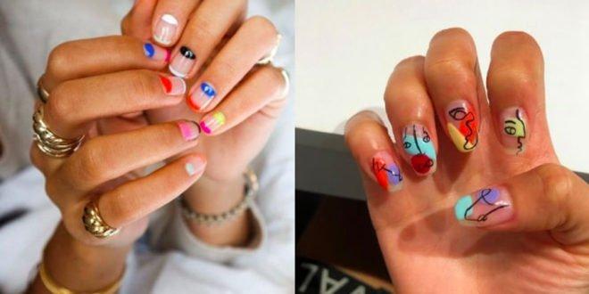 Τα πολύχρωμα νύχια είναι ό,τι καλύτερο έχουμε δει για ένα girly look