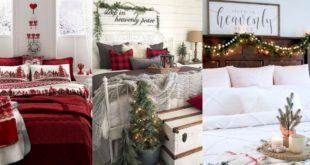 Χριστουγεννιάτικη-ατμόσφαιρα-στην-κρεβατοκάμαρα.-Ανακάλυψε-τις-πιο-εύκολες-και-οικονομικές-ιδέες-για-ένα-σούπερ-αποτέλεσμα!!!