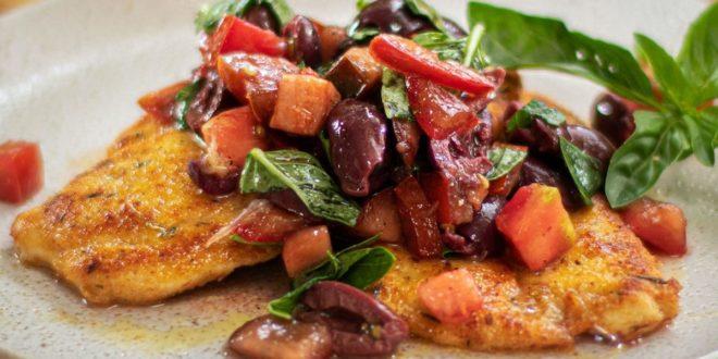 Κοτόπουλο-με-βότανα-και-Μιλανέζικη-σάλτσα!!!