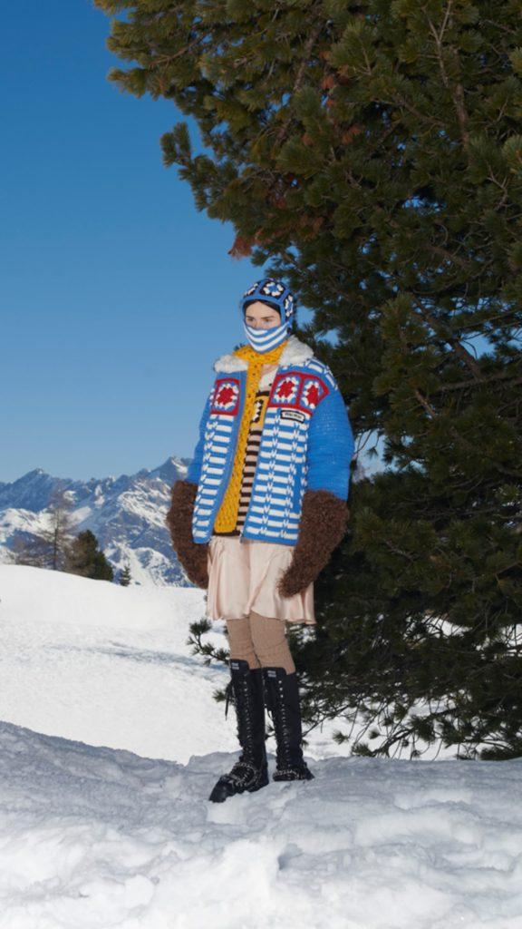 MIU MIU A/W 21: Η νέα συλλογή του οίκου μας ταξιδεύει σε χιονισμένες βουνοκορφές - BORO από την ΑΝΝΑ ΔΡΟΥΖΑ