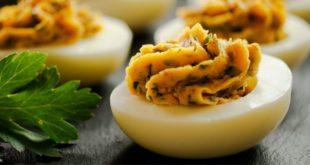 Αλμυρά γεμιστά αυγά