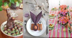 Iδέες για να διακοσμήσετε το Πασχαλινό σας τραπέζι