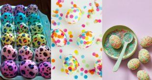 Πρωτότυπες ιδέες να βάψετε τα αυγά σας