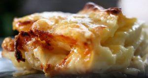 αρτιφλέτ: Σουφλέ πατάτας με δυο τυριά