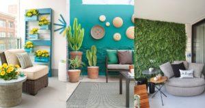 Μπαλκόνι διακόσμηση τοίχου