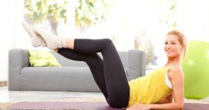 Γυμναστική στο σπίτι για αρχάριους