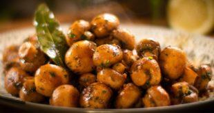 Μανιτάρια με σκόρδο και βότανα