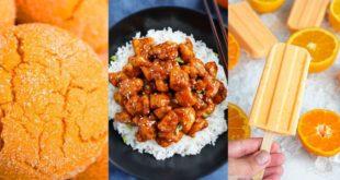 Συνταγές με πορτοκάλι και ελάχιστες θερμίδες
