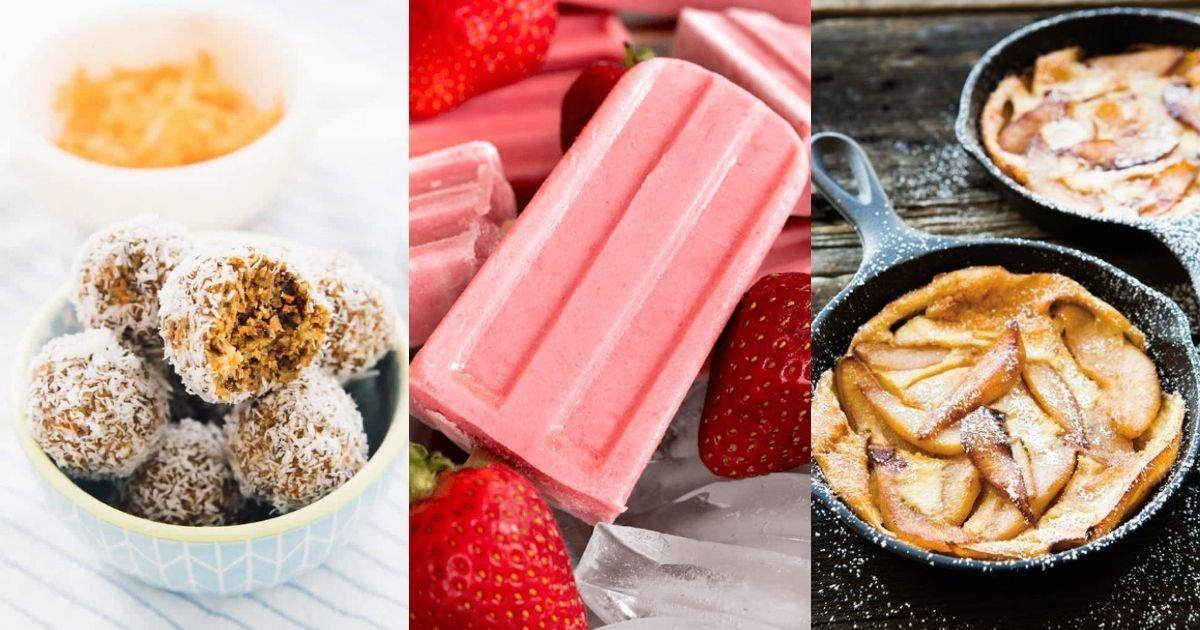 Συνταγές για υγιεινά γλυκά με χαμηλές θερμίδες