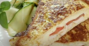 Γαλλικό τοστ με κοτόπουλο