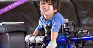 κινητική αναπηρία και νοητική υστέρηση