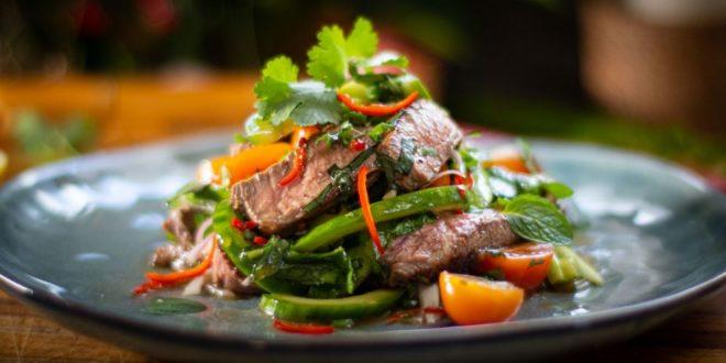 αϊλανδέζικη σαλάτα με μοσχάρι