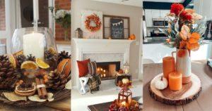 φθινοπωρινή διακόσμηση σπιτιού