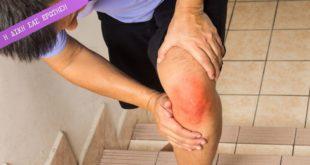 σκάλες και πονεμένο γόνατο